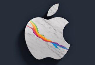 Apple изменила свой логотип специально для магазина в Риме