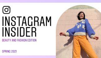 Цифровой журнал о моде и красоте в Instagram