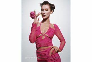Белла Хадид снялась в рекламной кампании Self-Portrait